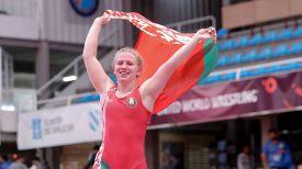 Анастасия Зименкова. Фото Международной федерации борьбы