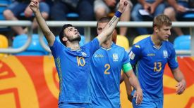 Футболисты молодежной сборной Украины. Фото ФИФА