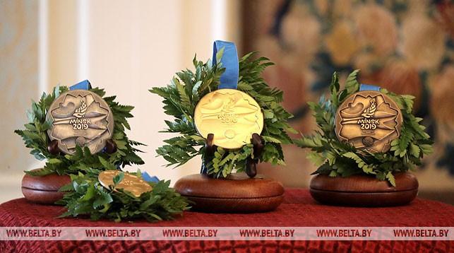 Медали II Европейских игр