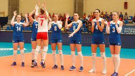 Волейболистки сборной Беларуси. Фото CEV