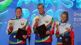 Белорусские легкоатлеты Татьяна Холодович, Максим Недосеков, Эльвира Герман завоевали золотые медали