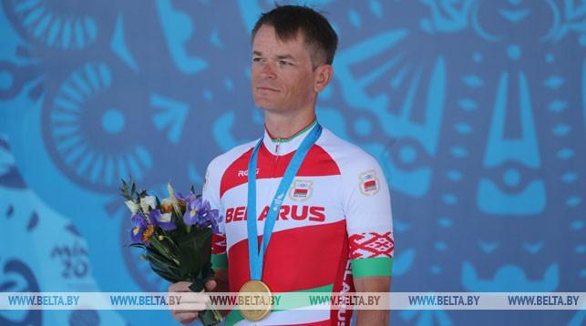 Велосипедист Василий Кириенко выиграл гонку с раздельным стартом
