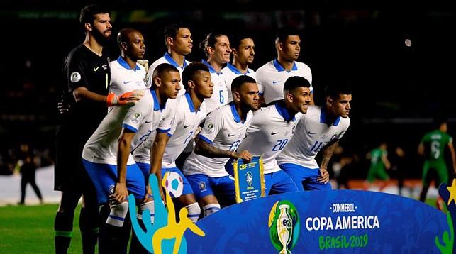 Сборная Бразилии. Фото ФИФА