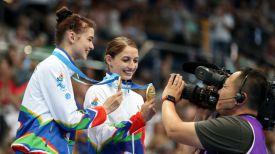 Мария Махаринская и Анна Гончарова