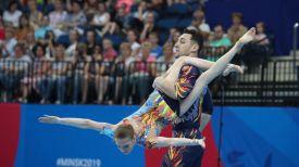 Артур Беляков и Ольга Мельник.