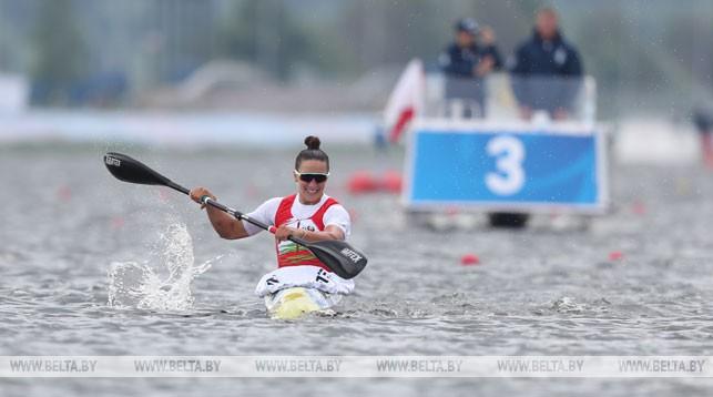 Ольга Худенко завоевала золото в гребле на байдарке