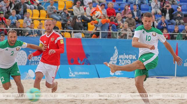 Баку пляжный футбол россия испания счет