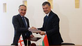 Михаил Батиашвили и Сергей Ковальчук. Фото Министерства спорта и туризма Беларуси