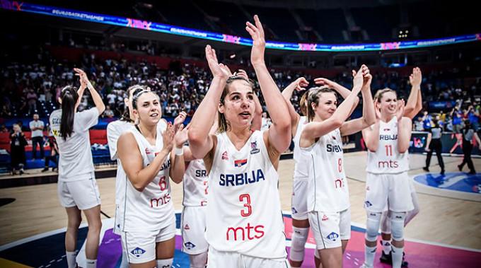 Сербские баскетболистки. Фото ФИБА