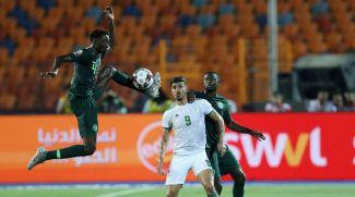 Во время матча Алжир - Нигерия. Фото организаторов турнира
