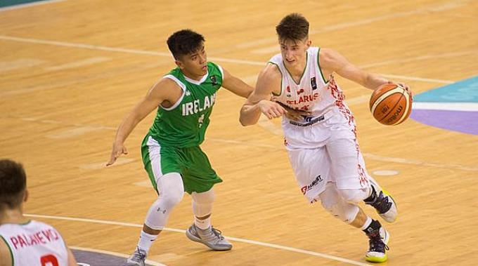 Во время матча. Фото FIBA