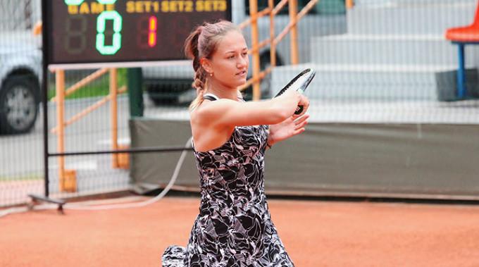 Ирина Шиманович. Фото из архива Белорусской теннисной федерации