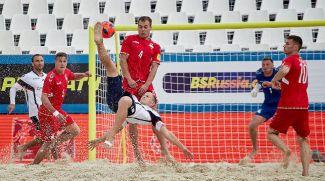Во время матча. Фото beachsoccer.ru