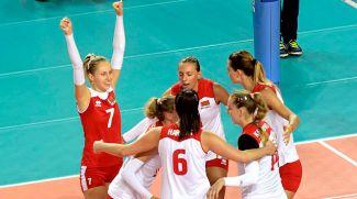 Во время матча. Фото Польской федерации волейбола