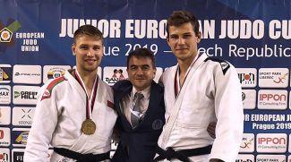 Иван Дубина и Александр Сидорик. Фото judobelarus.com