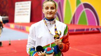 Александра Кислякова. Фото НОК Беларуси