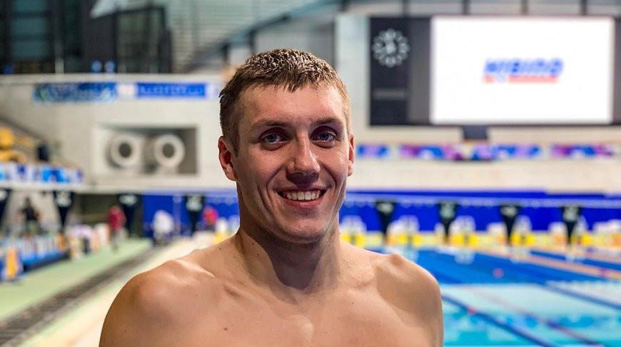 Илья Шиманович. Фото Белорусской федерации плавания