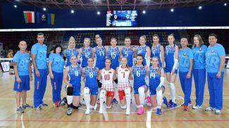 Сборная Беларуси. Фото Федерации волейбола Украины