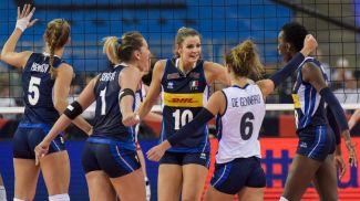 Волейболистки сборной Италии. Фото CEV