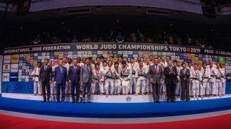 Фото Международной федерации дзюдо