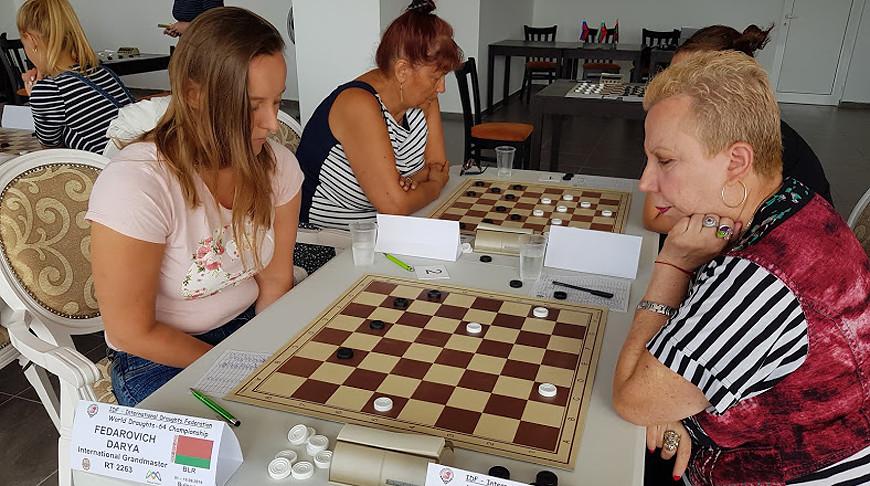 Дарья Федорович (слева). Фото организаторов турнира