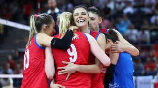 Эмоции сербских волейболисток. Фото CEV