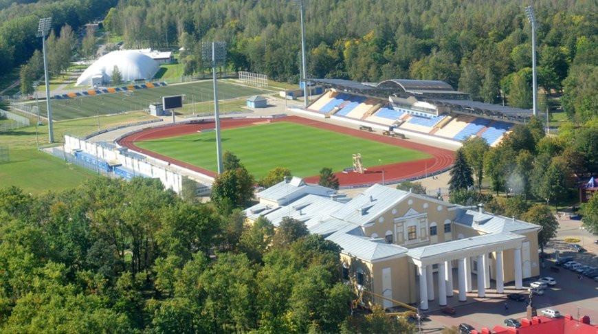 "Стадион !""Торпедо"" в Жодино. Фото sport-belaz.by"