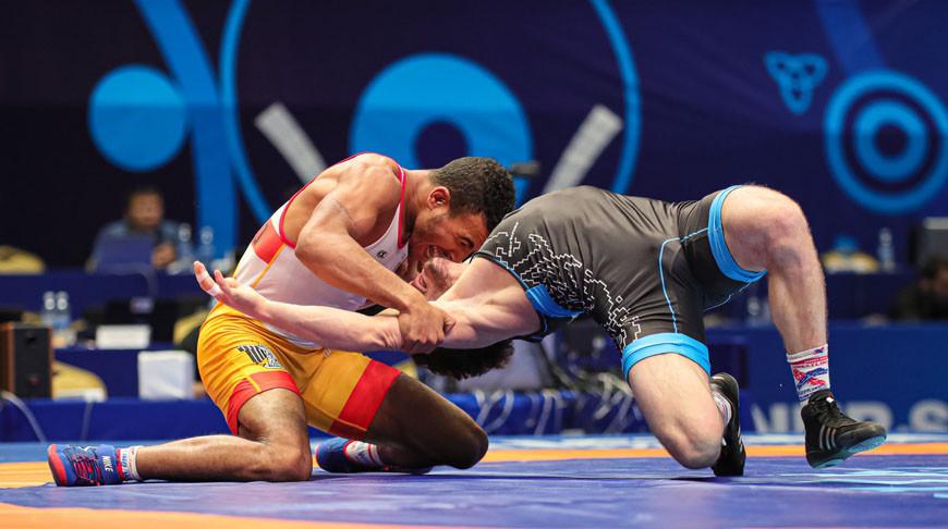 Мохаммед Эль Сайед и Сослан Дауров. Фото United World Wrestling