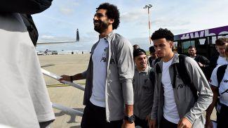 """Футболисты """"Ливерпуля"""" отправляются в Неаполь на поединок против """"Наполи"""". Фото УЕФА"""