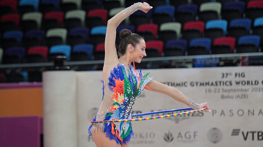 Екатерина Галкина. Фото Белорусской ассоциации гимнастики