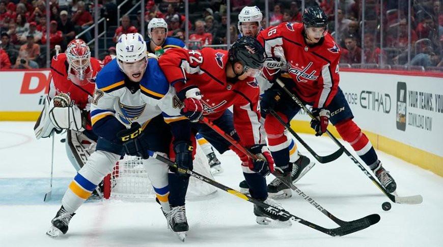 Во время матча. Фото НХЛ