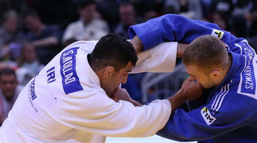 Саид Моллаеи (слева). Фото из архива Международной федерации дзюдо