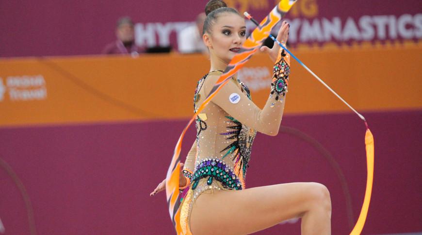 Алина Горносько. Фото Белорусской ассоциации гимнастики