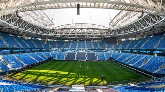 """Газпром Арена"". Фото УЕФА"