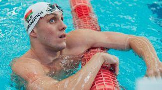 Илья Шиманович. Фото Белорусскрй федерации плавания