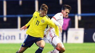 Во время матча. Фото Шотландской ассоциации футбола