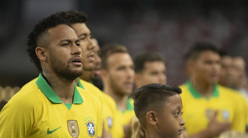 Неймар. Фото Бразильской конфедерации футбола