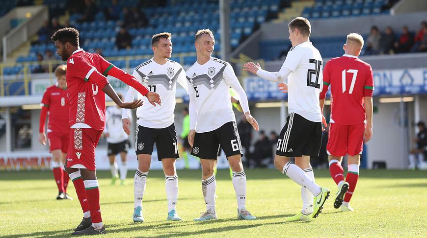 Во время матча. Фото Немецкого футбольного союза