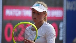 Александра Саснович. Фото из архива Белорусской теннисной федерации