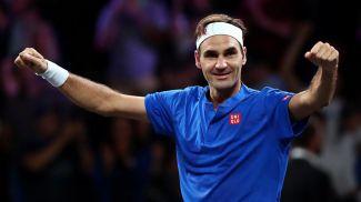 Роджер Федерер. Фото eurosport.com