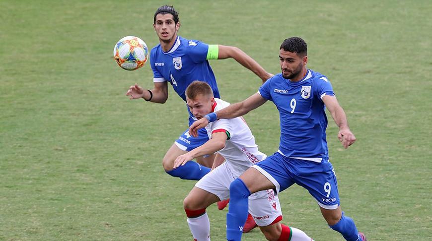Во время матча. Фото Футбольной ассоциации Кипра