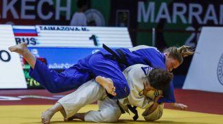 Жанна Осипович (в синем). Фото Международной федерации дзюдо