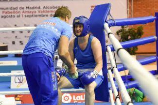 Виктория Кебикова. Фото Европейской конфедерации бокса