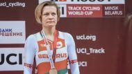 Татьяна Шаракова выиграла бронзу на этапе КМ по велоспорту на треке в Минске
