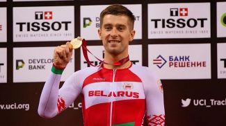 Евгений Королек. Фото Белорусской федерации велоспорта
