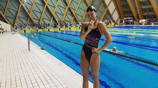 Алина Змушко. Фото Белорусской федерации плавания