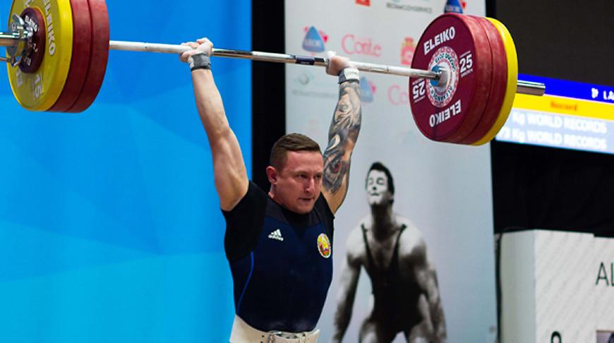 Геннадий Лаптев. Фото Weightlifting Belarus