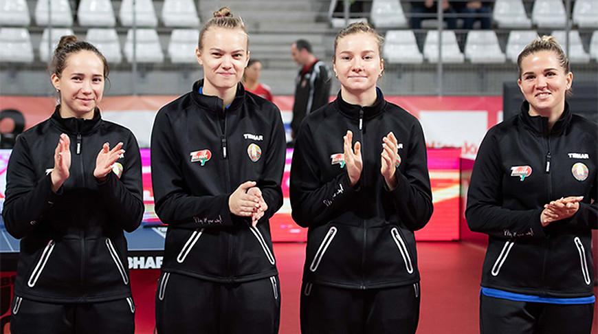 Белорусы узнали соперников в квалификации командного ЧЕ по настольному теннису