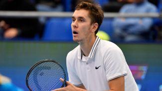 Егор Герасимов. Фото из архива Белорусской теннисной федерации