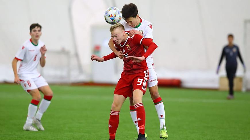 Во время матча. Фото Футбик.by